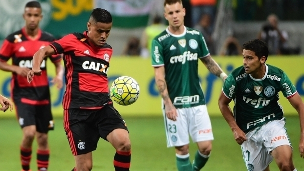 Brasileiro: Gols de Palmeiras 1 x 1 Flamengo