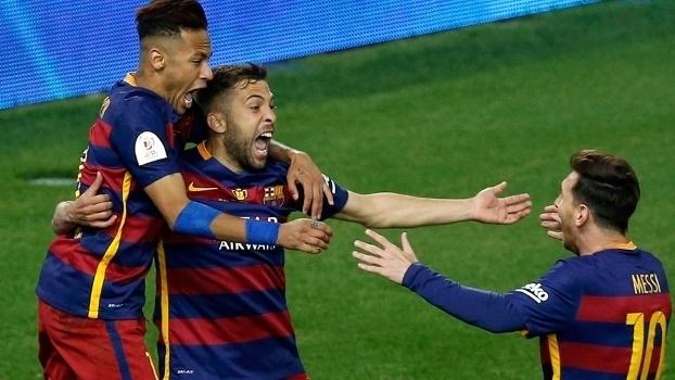Copa do Rei (final): Gols de Barcelona 2 x 0 Sevilla (prorrogação)