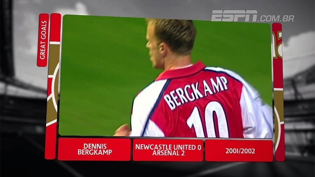 Inglês é EXCLUSIVO na ESPN; reveja golaços históricos do Arsenal na competição