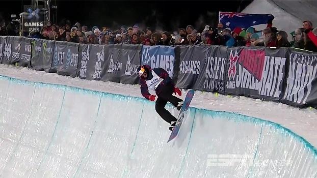 Com nota 90 logo na primeira volta, Scotty James conquista o ouro no Snowboard SuperPipe; assista