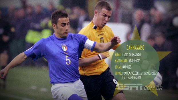 Capitão da Itália no título de 2006, Cannavaro foi eleito melhor jogador daquele Mundial; relembre sua trajetória