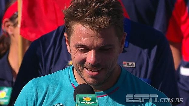 Wawrinka e Federer brincando, susto de Vesnina e mais; O último dia de Indian Wells