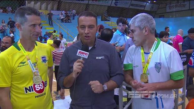 Personagens do 'Jogo das Estrelas'  de futsal comentam evento beneficente