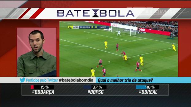 Barça, Real ou PSG ? Hofman escolhe quem tem o melhor trio