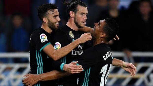 LaLiga: Gols de Real Sociedad 1 x 3 Real Madrid