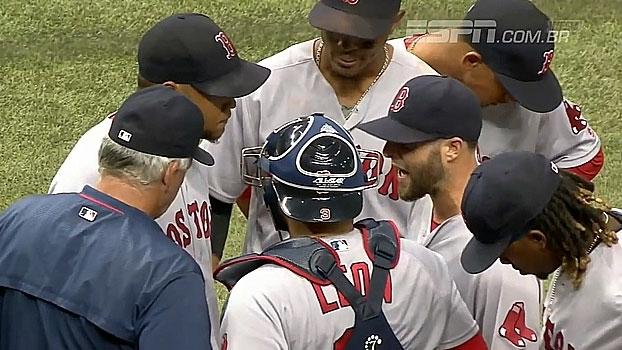 Rays abrem 9 a 0 na terceira entrada e atropelam Red Sox; Yankees perdem