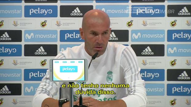 Zidane não acredita que título da Supercopa esteja definido