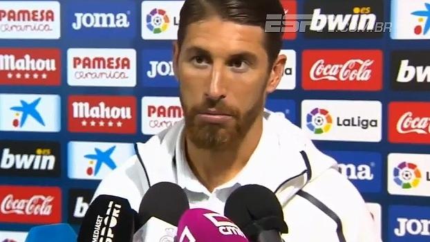 Sergio Ramos foge de polêmica ao ser perguntado sobre Piqué: 'Já o conhecemos'