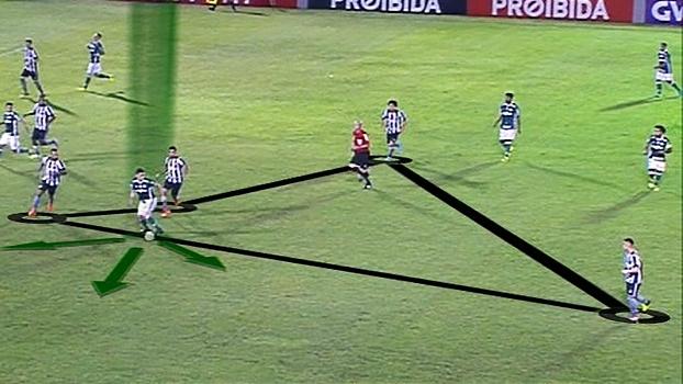 Falta de opções, amplitude e movimentação: DataESPN analisa erros do Palmeiras contra o Botafogo