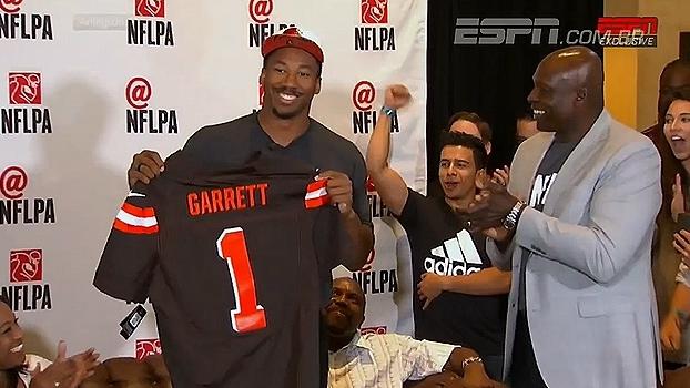 Veja o que de mais importante aconteceu no 1° round do Draft da NFL