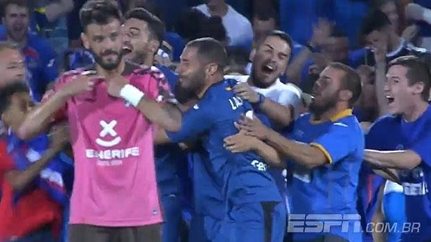 Assista aos gols da vitória do Getafe sobre o Tenerífe por 3 a 1!