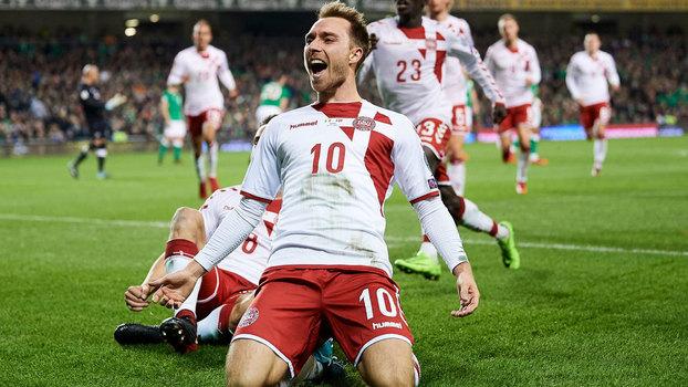 Assista aos melhores momentos da vitória da Dinamarca sobre a Irlanda por 5 a 1!