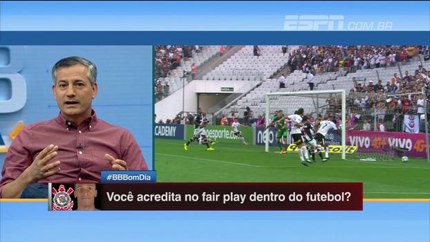 Sálvio, sobre gol irregular de Jô: 'É inaceitável que isso não seja visto por ninguém da arbitragem'