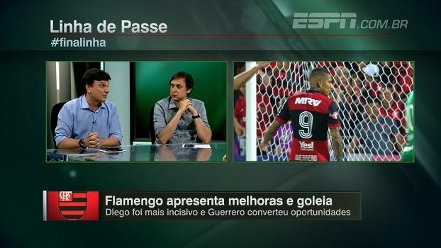 Mauro aprova 'vitória convincente' do Fla, mas faz considerações: 'A Chape concede campo'