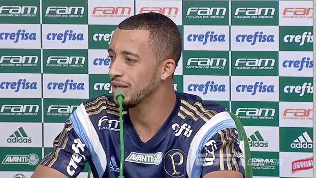 """Vitor Hugo admite """"estranheza' com reformulação do Palmeiras"""