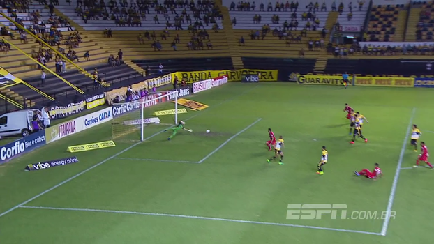 Assista ao gol de Criciúma 0 x 1 Vila Nova