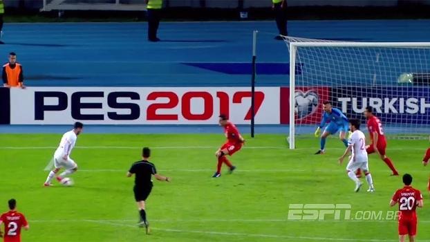 QUE CHANCE! De novo, Isco fica na cara do gol e obriga mais uma boa defesa de Dimitrievski