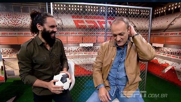 Leandro lembra de fuga de concentração com Renato Gaúcho: 'Nenhum corte ia doer mais do que decepcio