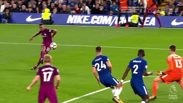 Lesão de Morata, pintura de De Bruyne e Rüdiger evitando gol de Jesus: como foi Chelsea 0 x 1 City