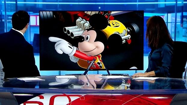 Dudu Monsanto e Ju Veiga entrevistam o piloto Mickey; veja e conheça a nova série da Disney