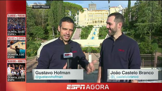 Seleção Brasileira ficará em Sochi e poderá ter familiares por perto durante a Copa; Hofman e João Castelo Branco explicam