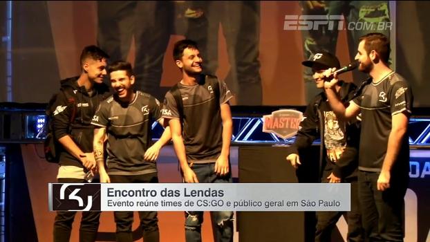 Veja como foi, na maior Lan-House de São Paulo, o 'Encontro das Lendas', com os melhores times de CS:GO