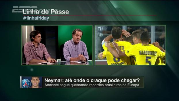 Neymar vai ser o melhor brasileiro na Europa? Juca opina: 'Ainda tem que capinar'