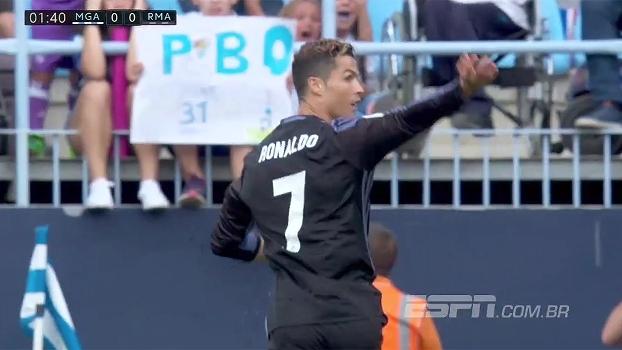 f36de96705 Tempo real  GOL do Real Madrid! Cristiano Ronaldo tira do goleiro e abre o
