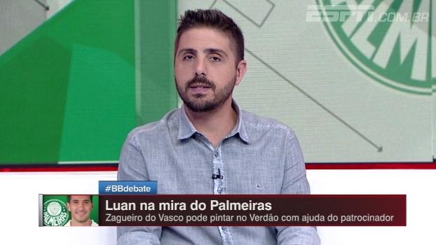 Palmeiras tenta contratar zagueiro do Vasco; Nicola traz informações do negócio