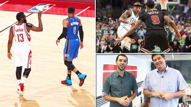 Surpresa no Leste, mais um recorde de Westbrook e crise em NY no 'NBA Countdown Brasil'