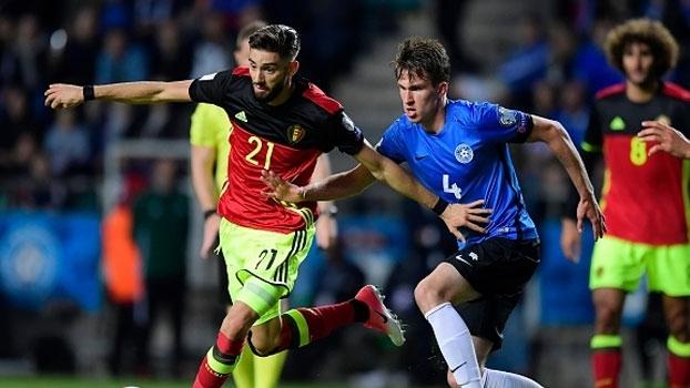 Confira os melhores momentos da vitória da Bélgica sobre a Estônia por 2 a 0 37e5a6497b1e5