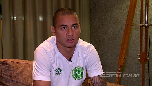 Wellington Paulista pede Chape 'chata' contra o Fla; Jandrei cita história do clube na Sul-Americana