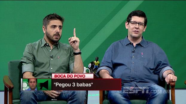 Palmeiras pegou 'babas' com Valentim? Nicola diz que sim, mas Bertozzi pondera: 'Com o Cuca também'