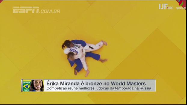 Judô: Érika Miranda é bronze no World Masters na Rússia