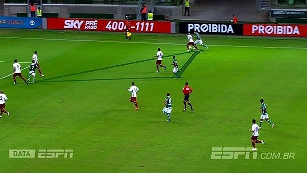DataESPN analisa como Cuca montou o Palmeiras com trio de ataque 'leve'