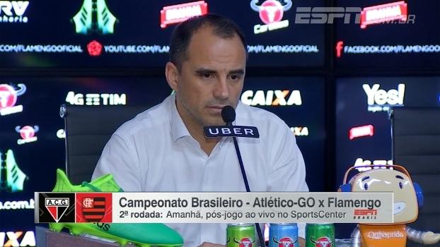 Dirigente do Flamengo destaca comprometimento do elenco e nega 'caça às bruxas'