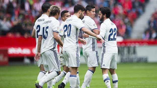 LaLiga: Gols de Sporting Gijón 2 x 3 Real Madrid