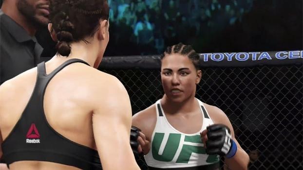 Brasileira Jéssica Andrade luta pelo cinturão no UFC 211, nesse sábado; veja simulação no game