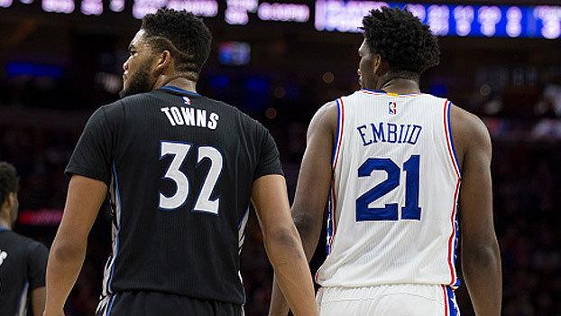 Quem é melhor: Joel Embiid ou Karl-Anthony Towns? 'NBA Countdown Brasil' debate