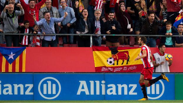 Veja os gols de Girona 2 x 1 Real Madrid