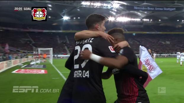 Assista aos melhores momentos de Stuttgart 0 x 2 Bayer Leverkusen