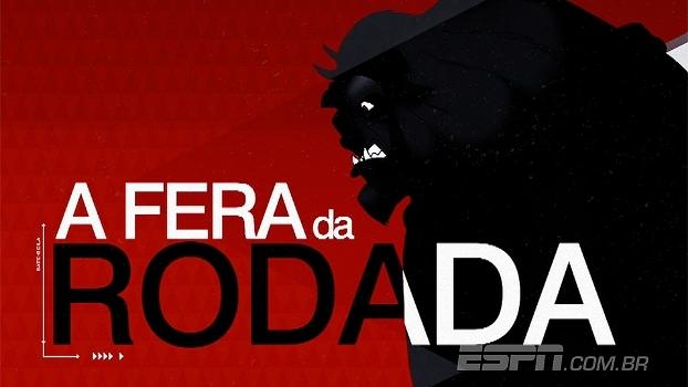 Com três gols e assistência, Fred é eleito o 'Fera da Rodada'
