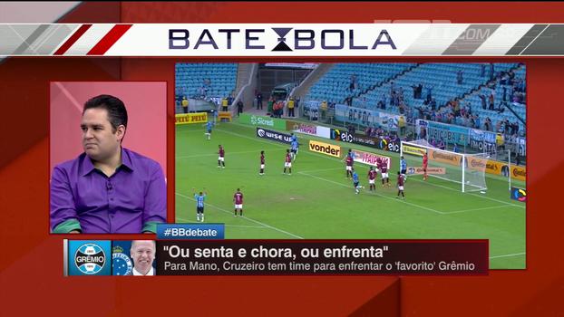 Bertozzi diz que Cruzeiro vem melhor fora do que em casa: 'Sabe que vai ter que defender bem'