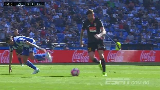 Melhores Momentos: Deportivo La Coruña 1 x 2 Espanyol
