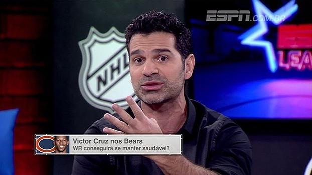 Victor Cruz nos Bears: ESPN League analisa se a contratação pode dar certo