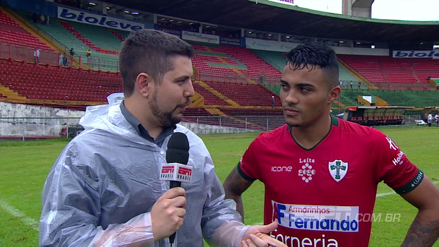 Promessa da Portuguesa elogia time depois de vitória na Copinha