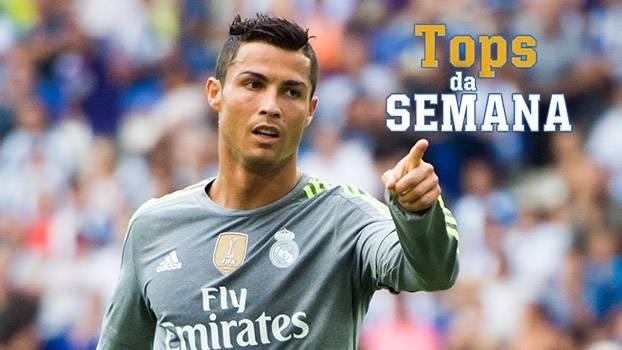 Cristiano Ronaldo 'monstruoso', Barcelona cem por cento e vitória da Inter sobre Milan no Tops da Semana
