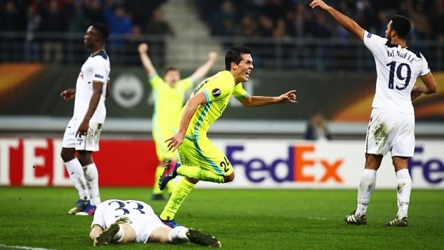 Europa League: Melhores momentos de Gent 1 x 0 Tottenham