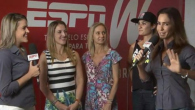 Gabi Moreira e Juliana Veiga apresentam novas blogueiras do espnW