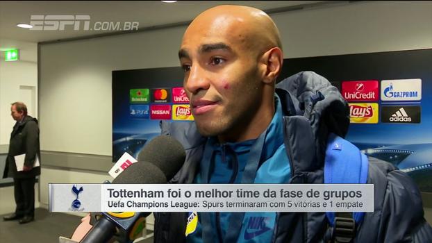 Brasileiros do Apoel exaltam torcida após derrota para o Tottenham na Champions League